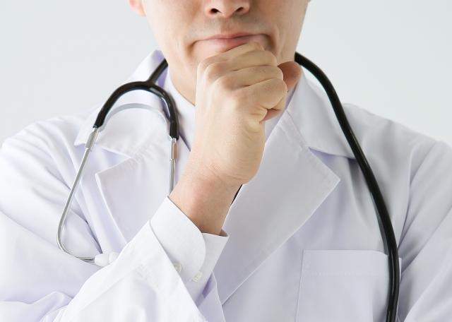 医師のあご